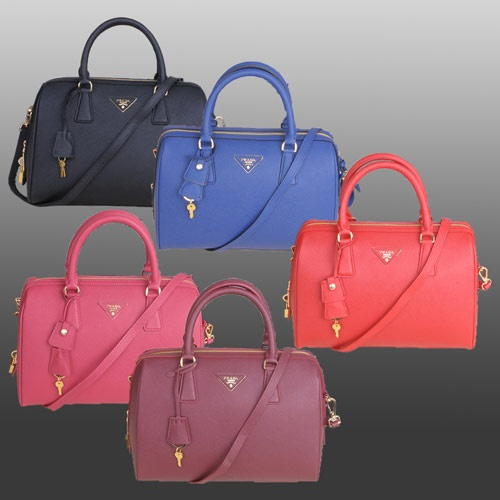 Designer Fashion Prada Top Handbag With Espom Leather 1844  More products,arrive www.worldleathers.hk