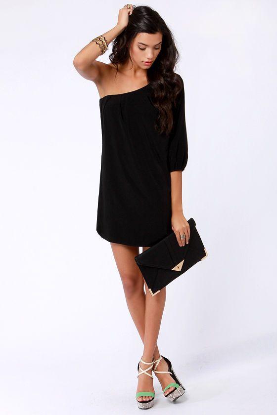 1000  ideas about One Shoulder Dresses on Pinterest - One shoulder ...