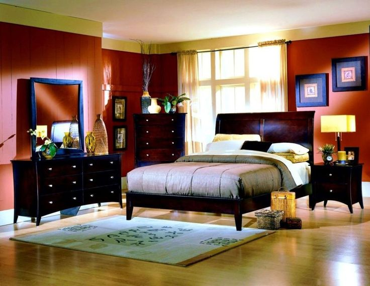 Asian style bedrooms