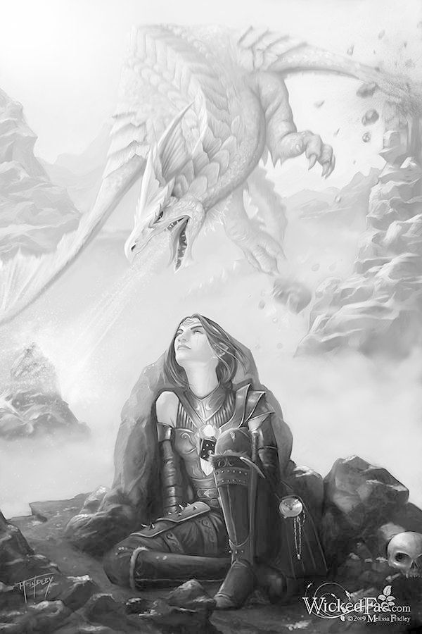 229 best Grayscale fairies, elves, mermaids, ect images on ...