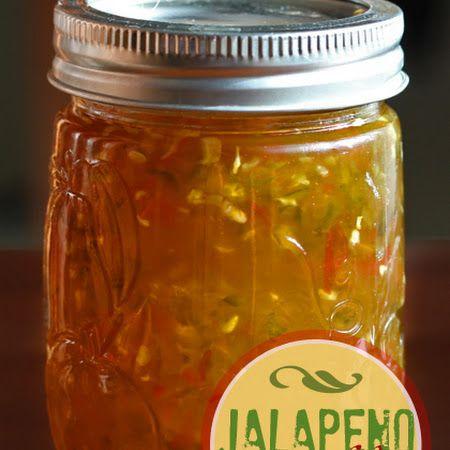 Jalapeno Jelly, this stuff is addicting, sooooooooo good