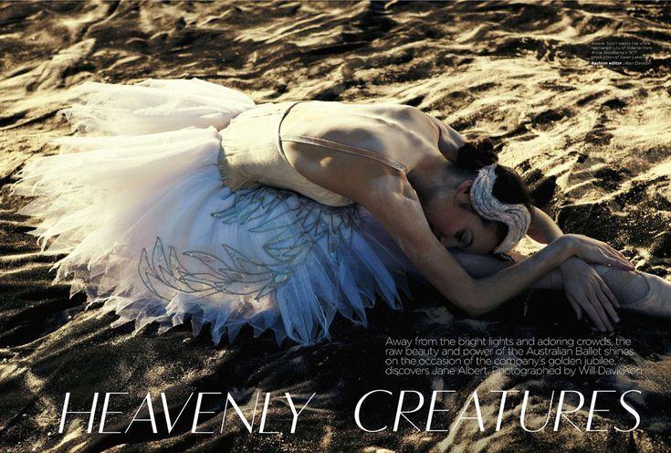 Australian Ballet Jubilee | Will Davidson | Vogue Australia November 2012 | 'HeavenlyCreatures' - 0- News for Women, Fashion & Style, Women's Rights - Anne of Carversville Women's News