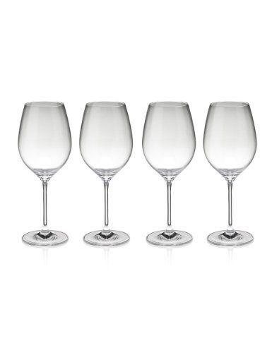 4 Maxim Red Wine Glasses-Marks & Spencer