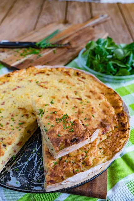 stuttgartcooking: Kartoffel-Kuchen aus dem Ländle