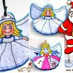 Santa and Angel PRINTABLES