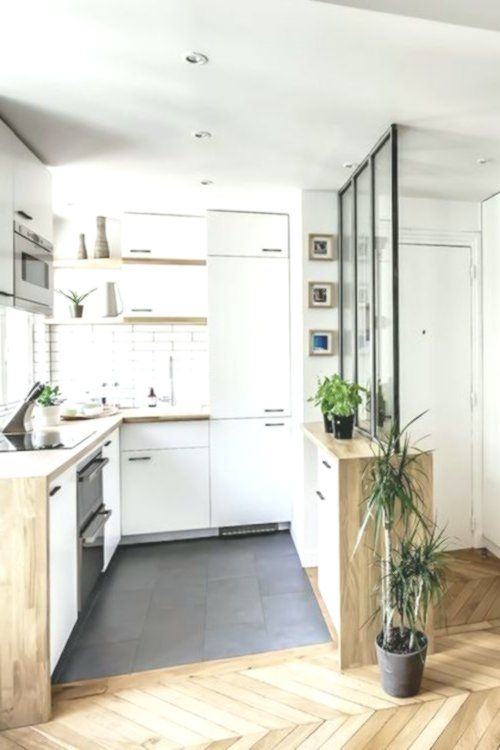 Mettre 20m2 10 Astuces Principaux Clemaroundthecor Cuisineverriere Cuisine Ouverte Sur Salon Cuisine Ouverte Renovation Cuisine