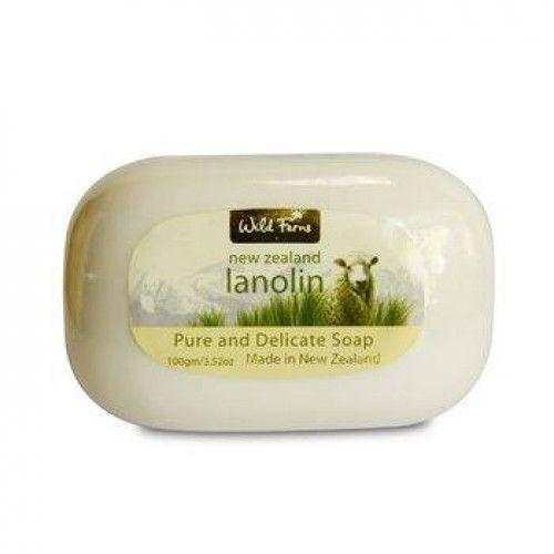Wild Ferns New Zealand Lanolin Soap