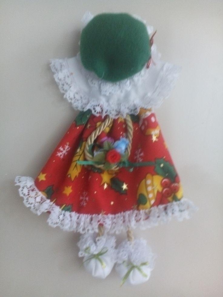 muñequita para la nevera