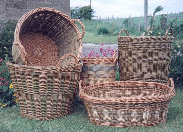 some baskets by Steve Fuller - Willowpool Designs| Flickr - Photo Sharing!