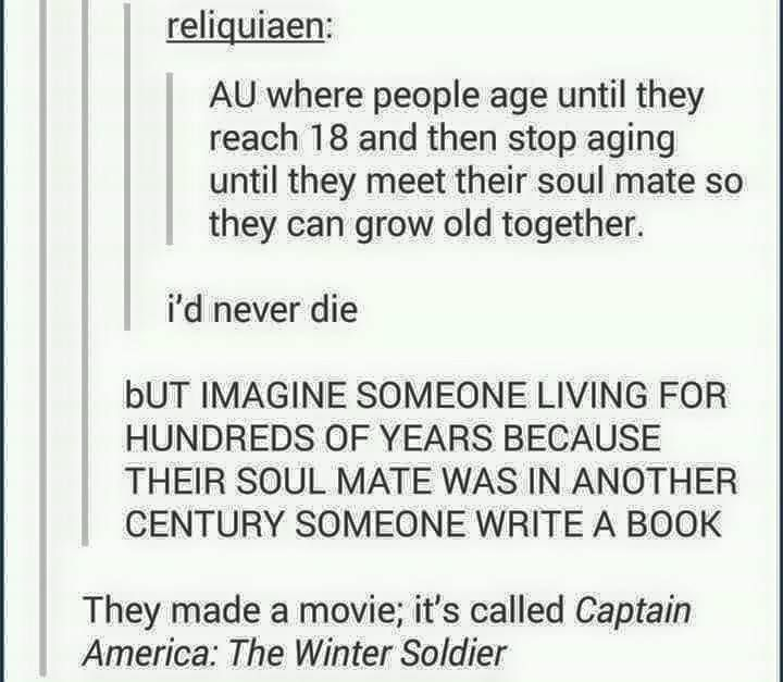Why would you do that!! But what a great story idea