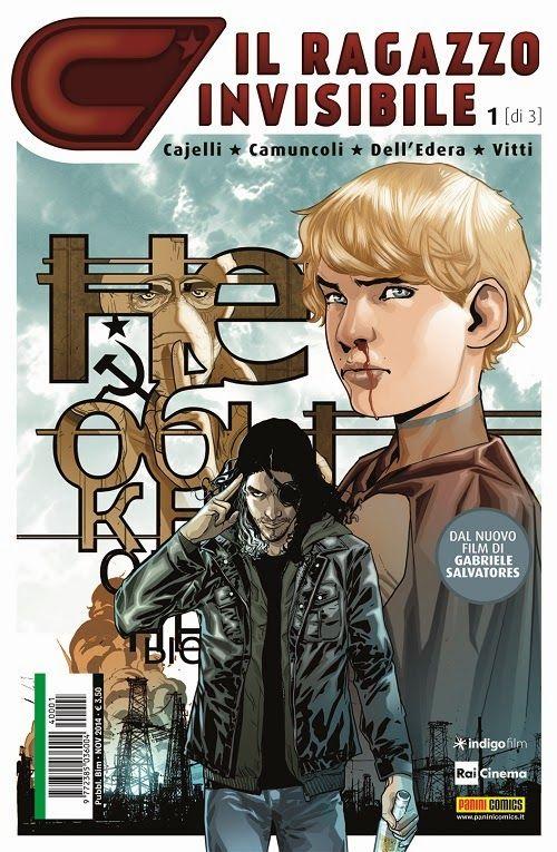 Comic-Soon: IL RAGAZZO INVISIBILE, RECENSIONE DEL FUMETTO ITAL...