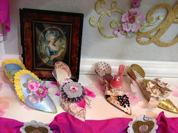 new Brenda Walton collection sizzix shoes