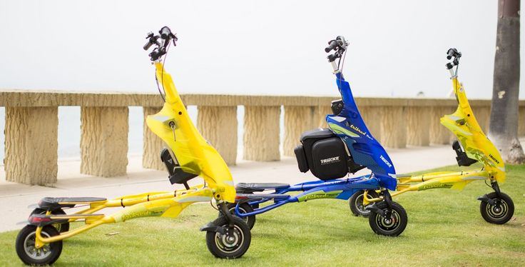 The Trikke (/ˈtraɪk/ tr-EYE-k) is a personal vehicle with an articulated cambering frame with 3 wheels, which maintain constant contact with the road at all conditions, on turns or uneven surfaces. The Trikke is not a scooter, it's not a bicycle, it's not a car. It defines a new category: Carving Vehicles. It's for fun, fitness, transportation, and now, even police and security forces. We have a ride for everyone!