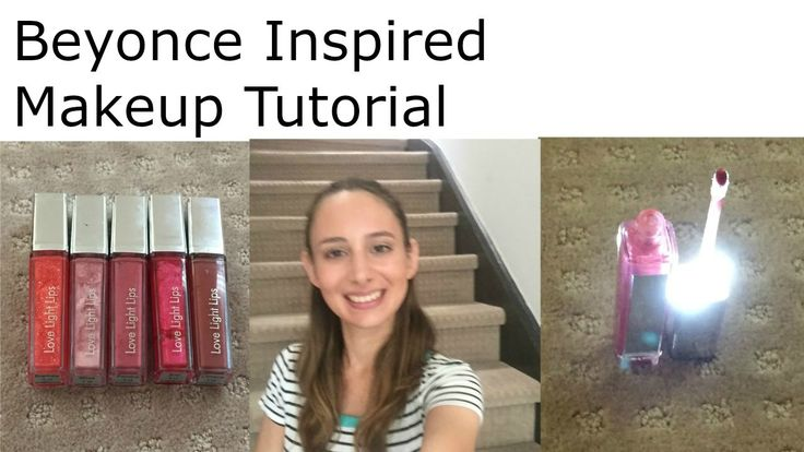 Beyonce Inspired Makeup Tutorial - Love Light Lips - AD