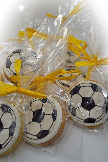 Galletas de fútbol