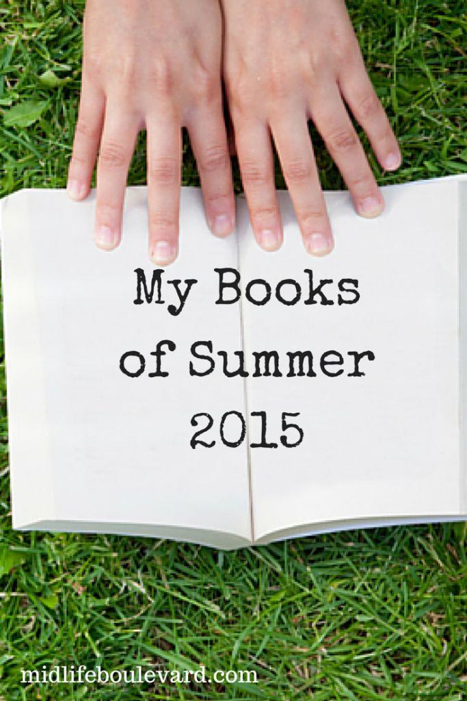 My Books of Summer 2015: summer books 2015