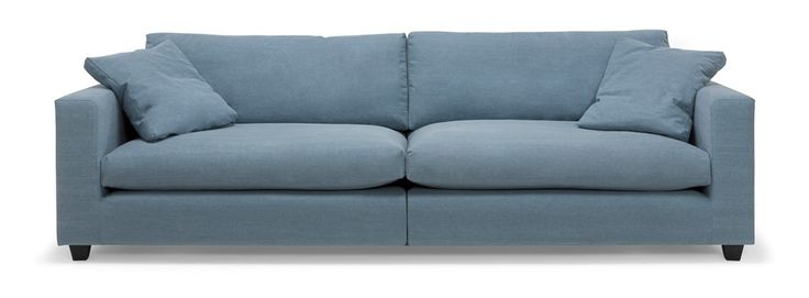Heaven soffa/soffa - 3-sits XL i tyg Ranch, delad rygg - Svenska Hem
