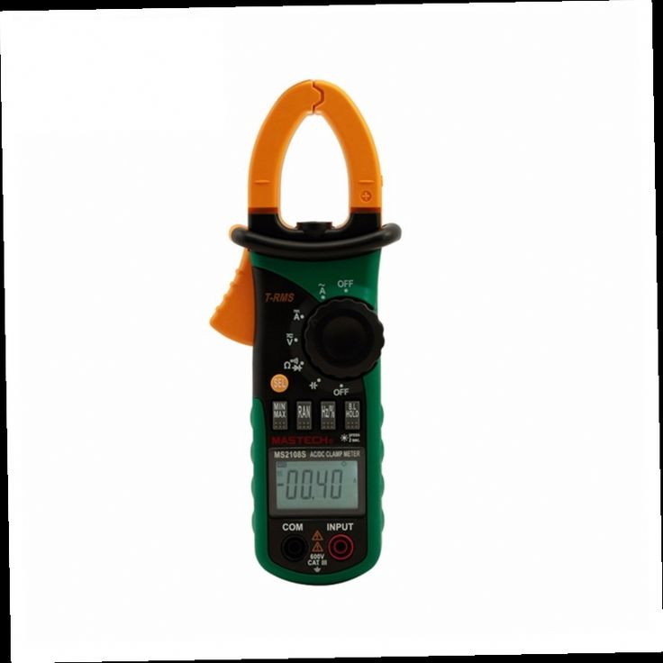 52.65$  Buy now - http://ali7tu.worldwells.pw/go.php?t=32411177212 - 1 pcs Mastech MS2108 Digital Clamp Meter True-rms Inrush Current 66mF Capacitance Frequency AC/DC current voltage Measurement