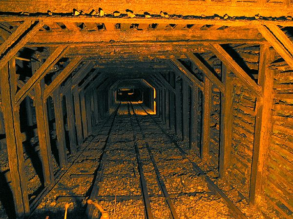 Empire Mine SHP - so cool to go down into a real gold mine and see all of the equipment!