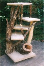 Furwood Forest - Custom Cat Furniture Specializing in handcrafted rustic design