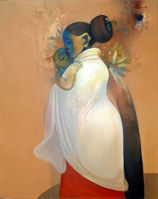 Mother and Child series by Buwa Shete