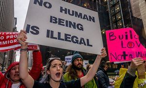 The rise of fascism is not inevitable – just look at Bridges Not Walls | Ellie Mae O'Hagan | Opinion | The Guardian