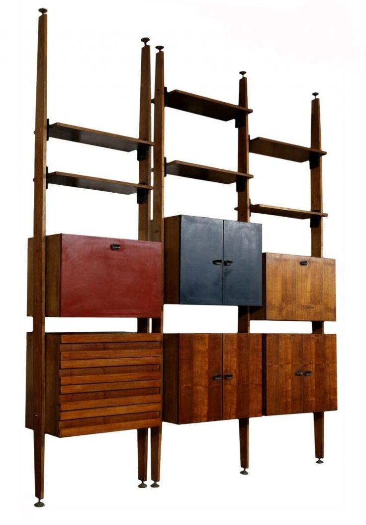 Italian Mid-Century Modern Bookcase, Franco Albini