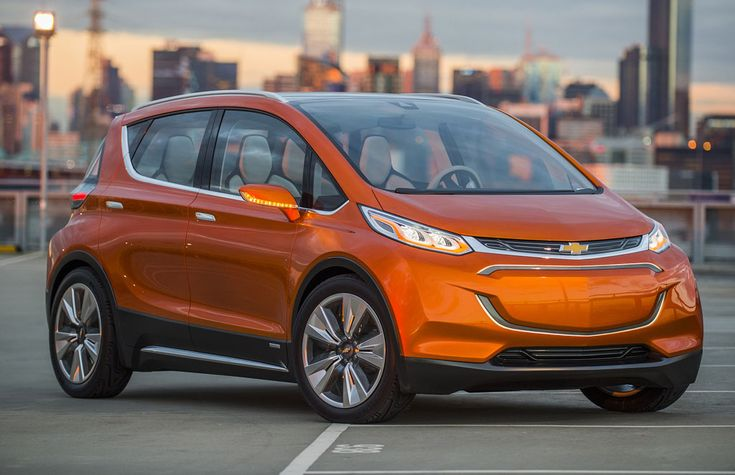 Chevrolet Bolt Ev Previews An Affordable All Electric Vehicle Car Chevrolet Electric Car Concept Electric Cars