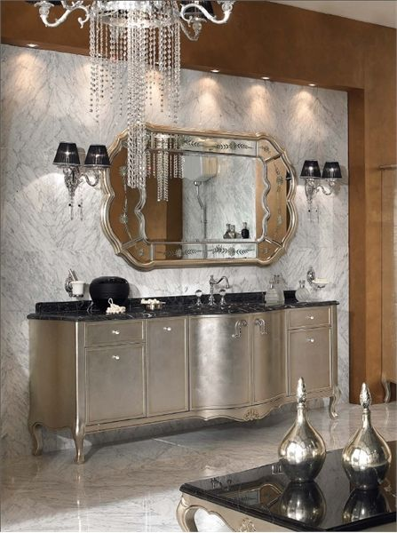 Luxury-Bathroom-with-Glowing-Classical-Luxurious-Furniture-Basin-Cabinets-with-Silver-Accent
