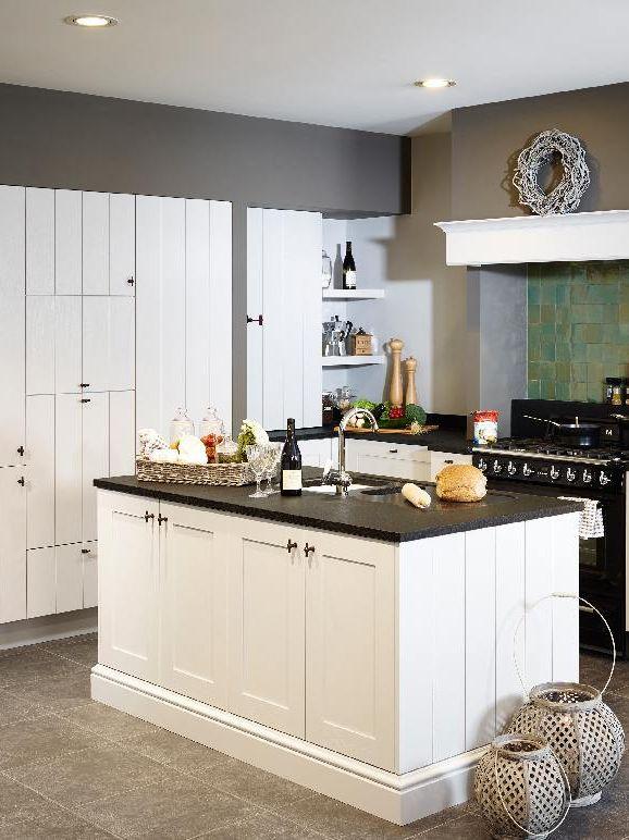 Keuken modern wit hout - Kleine witte keuken ...