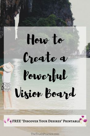 Here are 7 simple steps to create the most powerful vision board that truly aligns with your life intentions.