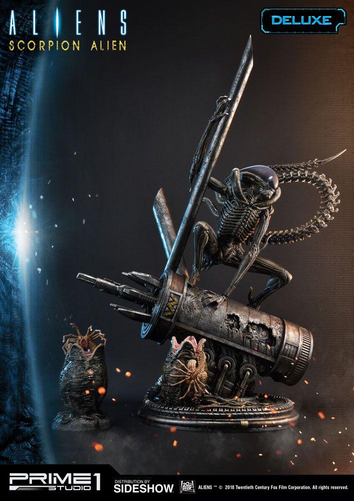 Aliens Scorpion Alien Deluxe Version Statue By Prime 1 Studio
