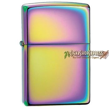 New Online Cigar Deal: Spectrum – $26.63 added to our Online Cigar Shop https://cigarshopexpress.com/online-cigar-shop/lighters/lighters-zippo-lighters/spectrum/ Zippo Spectrum is without a doubt the grooviest Zippo has to offer. You'll be practically mesmerized by the psychedelic rainbow of the Spectrum finish on this chrome-plated model. ...