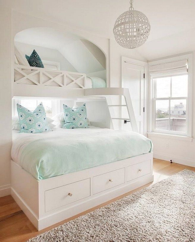 952 best Beach Bedroom Ideas images on Pinterest | Beach cottages ...