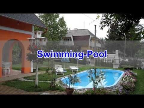 Ferienhaus am Plattensee mit Swimming-PoolAuch für Familien und Reisegruppen ist ein eigener Swimming-Pool ein wichtiges Kriterium, wenn es um die Planung für die nächsten Ferien in Ungarn geht. Wo könnte man nach einem erlebnisreichen Tag am Balaton besser entspannen?