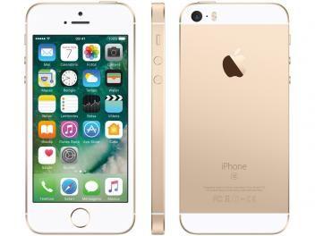 """iPhone SE Apple 64GB Dourado 4G Tela 4"""" - Retina Câm. 12MP iOS 10 Proc. Chip A9 Touch ID  R$ 2.299,90 em até 10x de R$ 229,99 sem juros no cartão de crédito"""