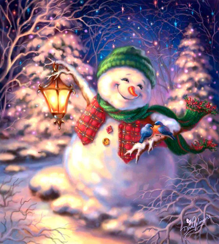 Я весёлый снеговик и грустить я не привык! | Dona Gelsinger.. Обсуждение на LiveInternet - Российский Сервис Онлайн-Дневников