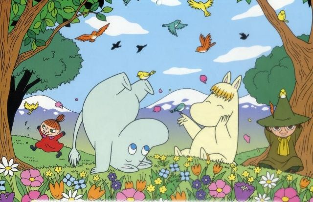 MOOMIN - Tove Jansson  Reminds me of my time in Finland