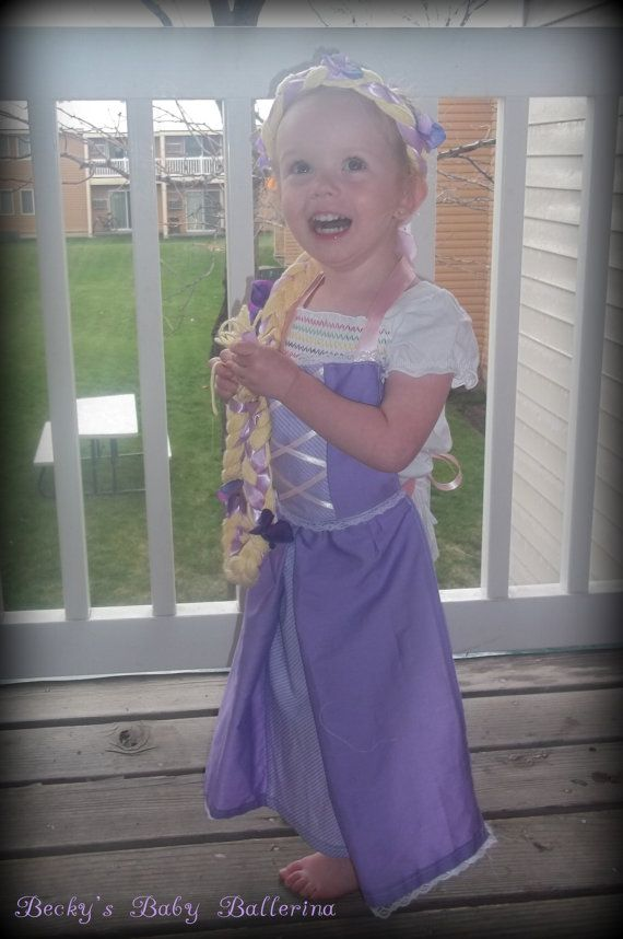 Rapunzel apron and braid $30 on etsy for set!