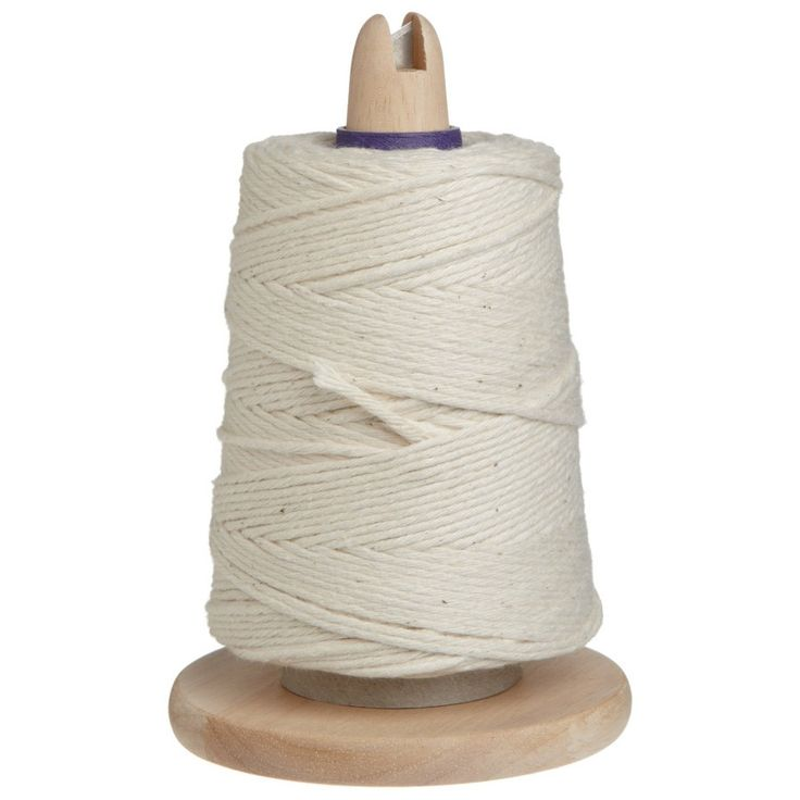 Regency RW1675 Cooking Twine With Wooden Holder & Metal (Grey) Cutter, 550'