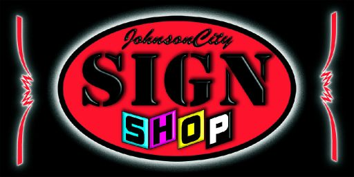 JC SIGN SHOP: ■SIGNS  ■BANNERS  ■T SHIRTS  ■DECALS  ■VINYL LETTERING  ■PRINTING SERVICES  ■MAGNETS  ■BUSINESS CARDS  ■SCREEN PRINTING  ■NOTARY