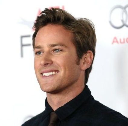 Couldn't stop thinking about Armie Hammer's voice, so sexy and manly!