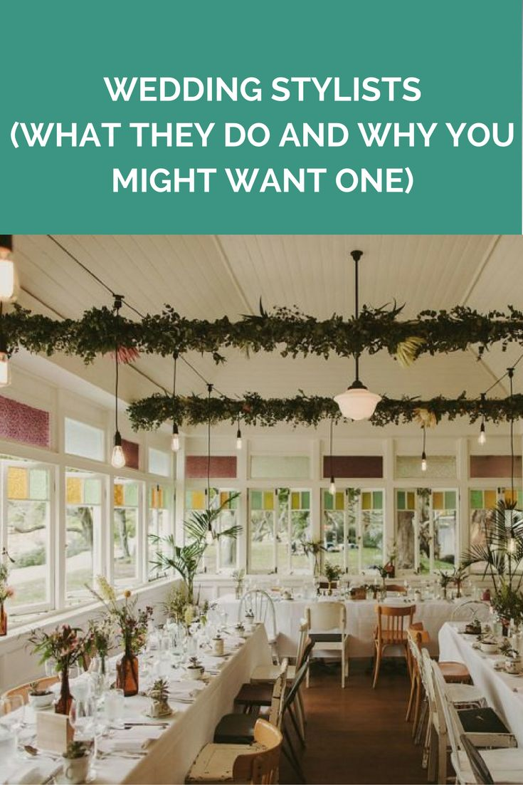 Wedding stylists (what they do and why you might want one)