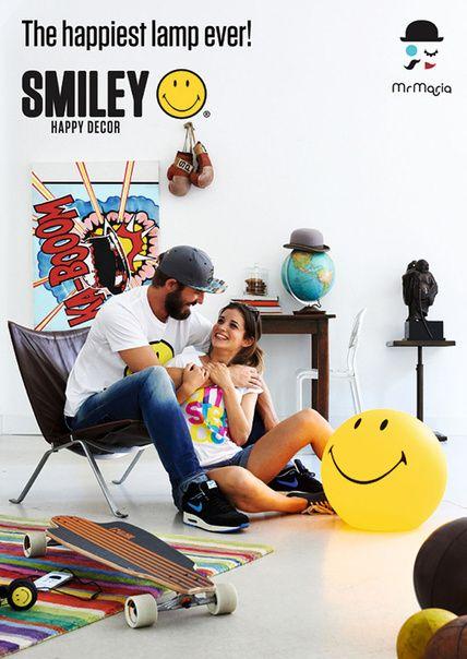 Lámpara Smiley