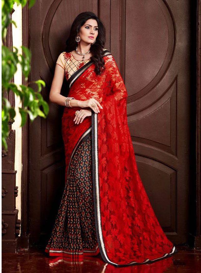 Dress Indian Sari Designer Ethnic Bollywood Partywear Pakistani Wedding Saree  #KriyaCreation #DesignerSaree