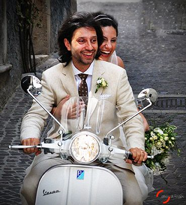 Matrimonio in...vespa