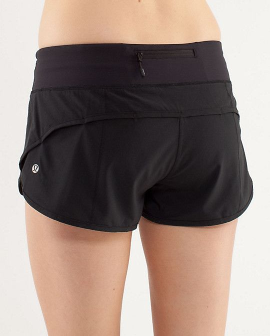 lululemon speed shorts. best run shorts!