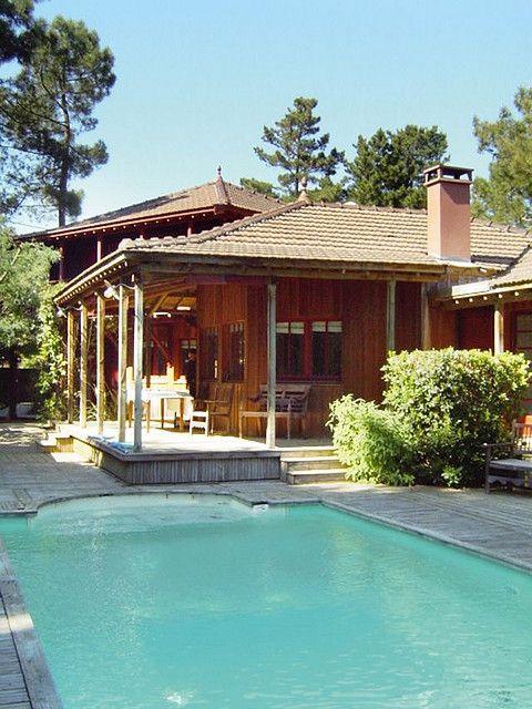 LUXURY FAMILY property Villa CAP FERRET Bassin arcachon NEAR BORDEAUX FRANCE POOL GOLF   fashion