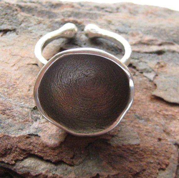 The Black Hole.  Galaxy Collection.  Sterling Silver Ring by ZaZing, NZ$85.00