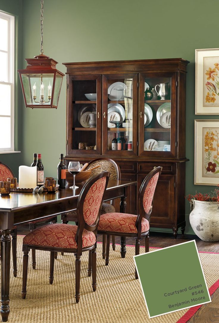 Green Painted Dining Chairs - August october 2014 paint colors